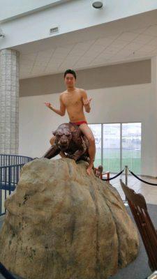 Sometimes Nick Mounts Big Cats